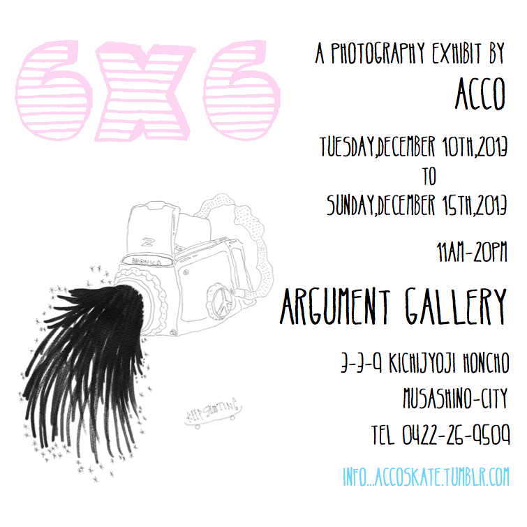 A PHOTOGRAPHY EXHIBIT BY ACCO 2013.12.10 Tue - 12.15 Sat
