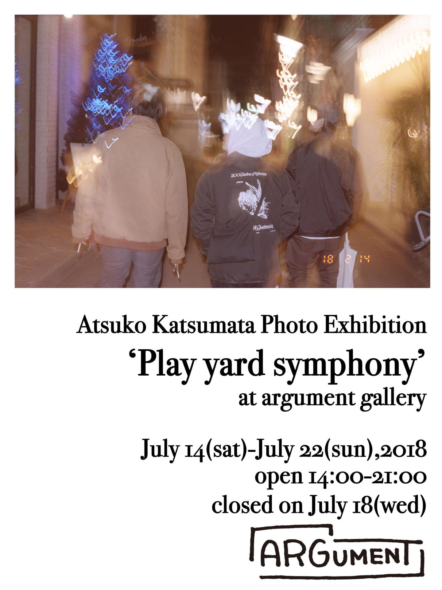 Atsuko Katsumata Photo Exhibition